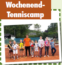WE Tenniscamp